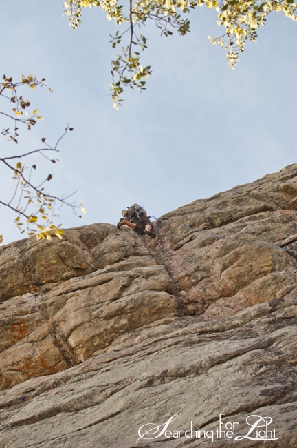 Climbing is an Excuse to be Outside a Lot {Vedauwoo, WY} | Denver Vintage Wedding Photographer