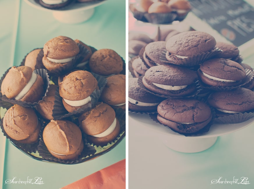 Denver Wedding Photographer | Tee & Cakes Interview Whoopies  Photo