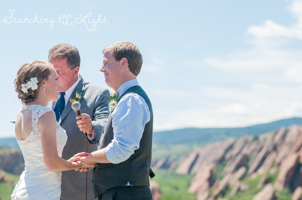 Exchanging Wedding Vows Privately VS Publicly: Wedding Ideas from a professional Denver wedding photographer featuring ideas to privately share your intimate vows.