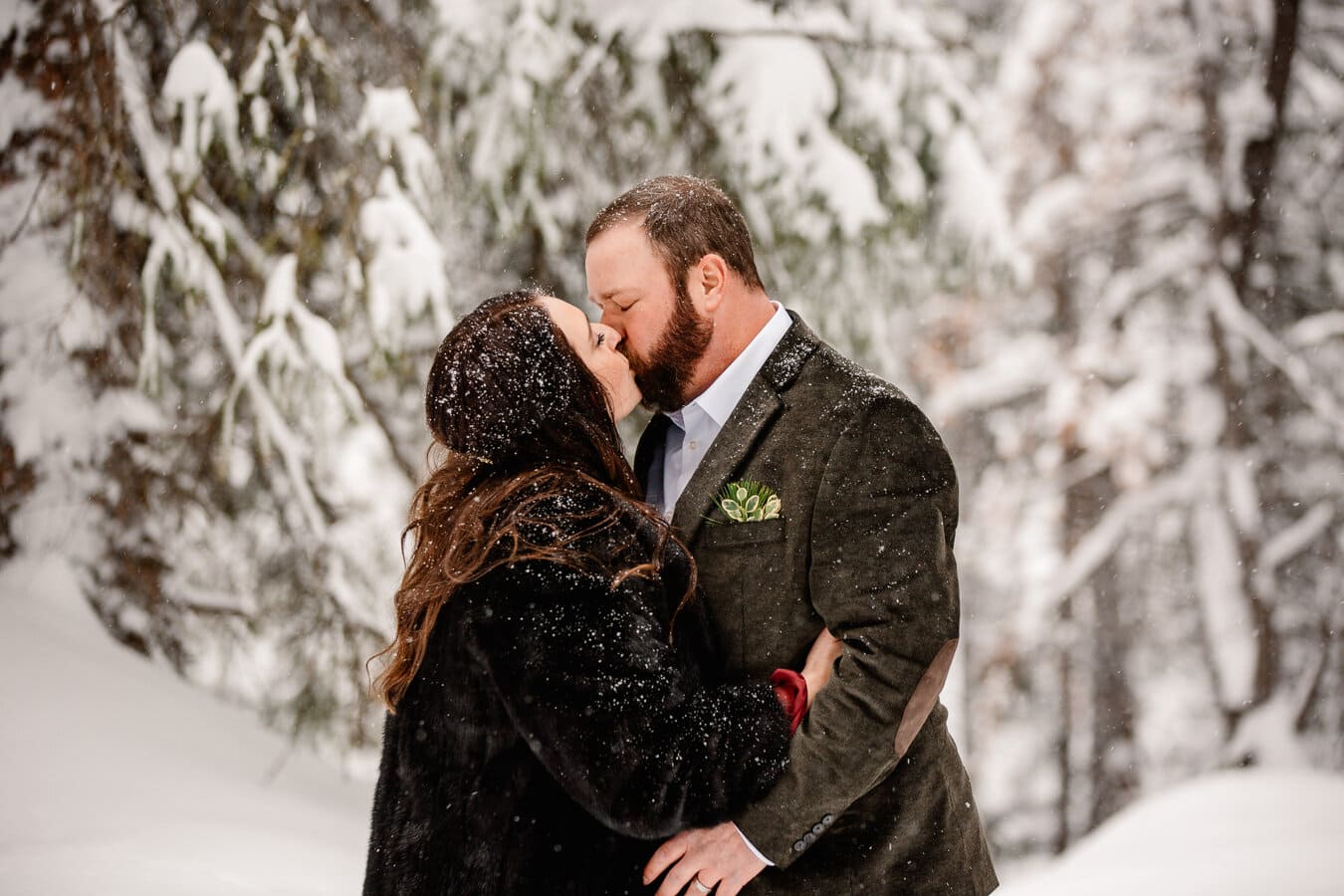 Real Winter Elopement {Kari & Craig by Brittany}