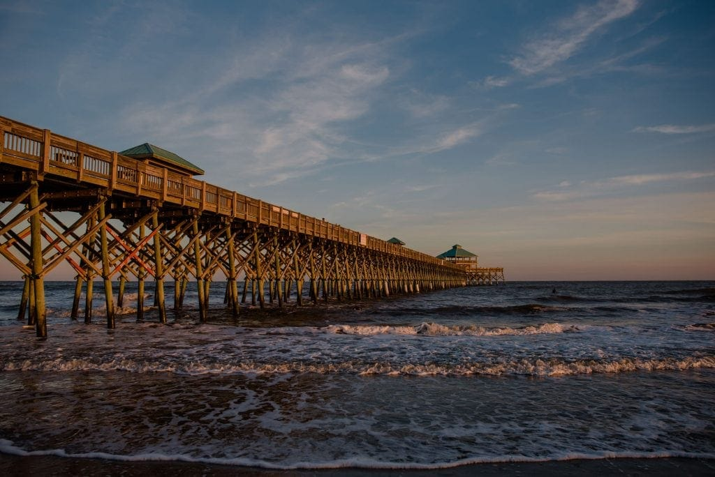 Best Anniversary Trip Ideas | Beaches: Folly Beach, SC