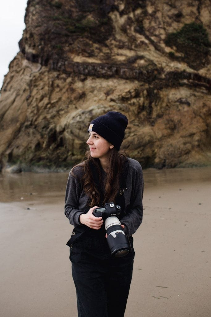 Kayla from Together Theory in Oregon with her Camera