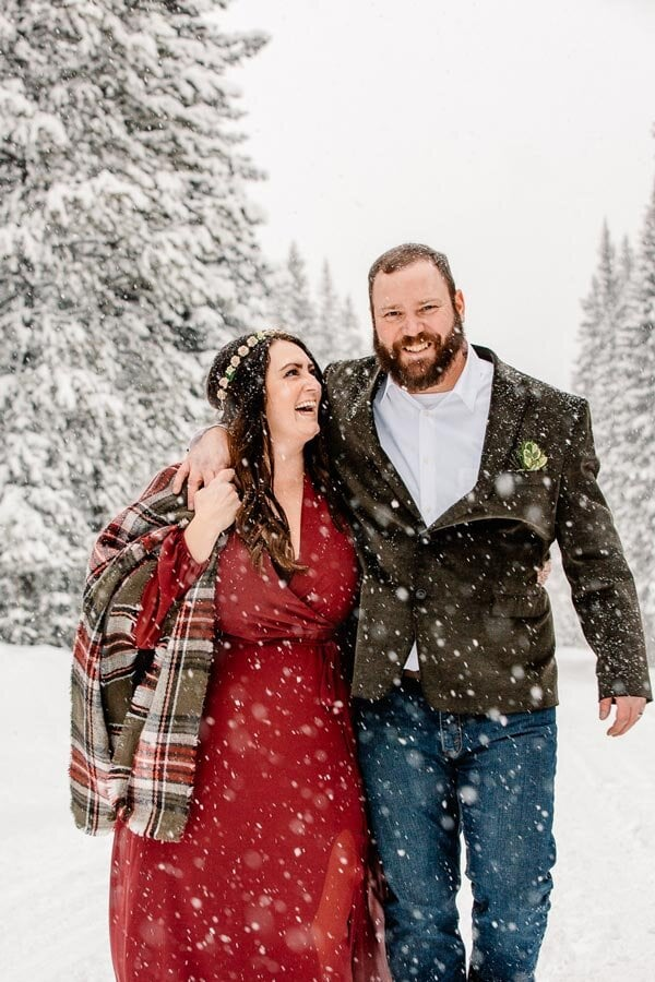 Sapphire Point Winter Wedding in Colorado