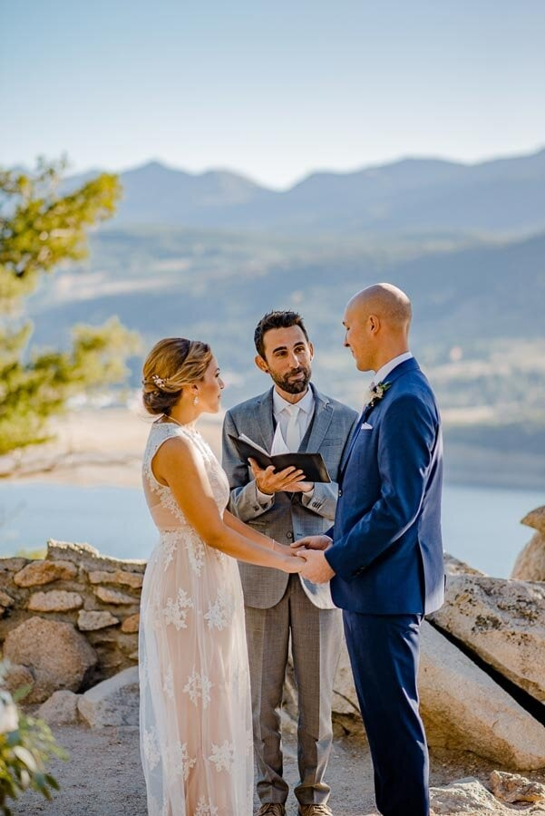 Sapphire Point Wedding in Colorado
