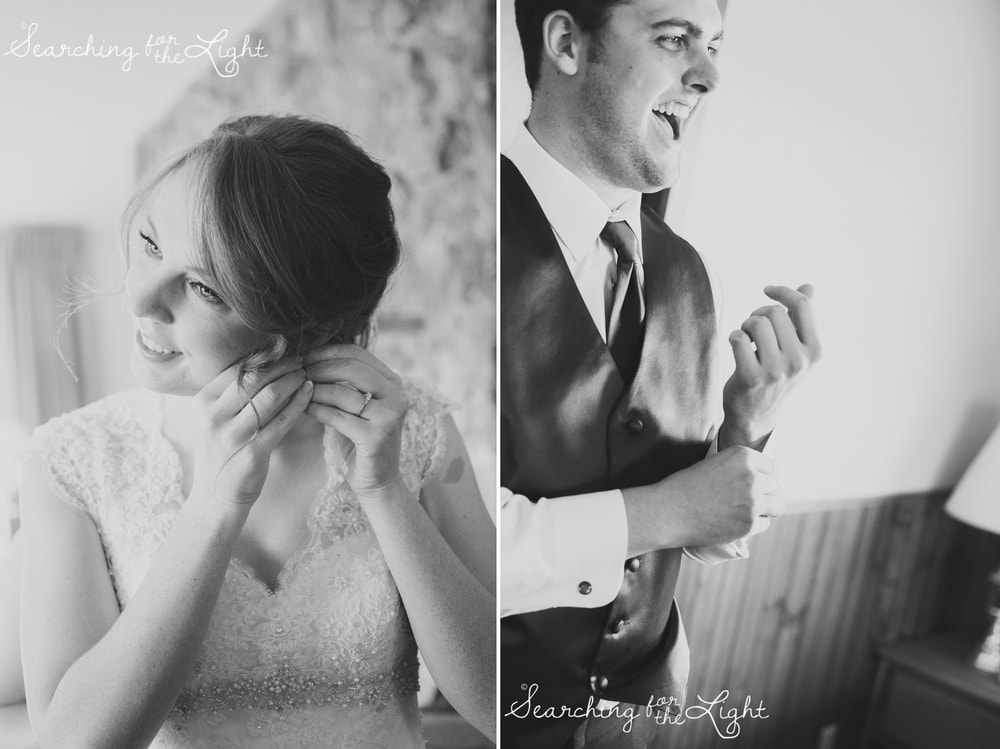 Getting Ready at Snow Mountain Ranch Wedding Photo Fall Wedding by Denver Photographer