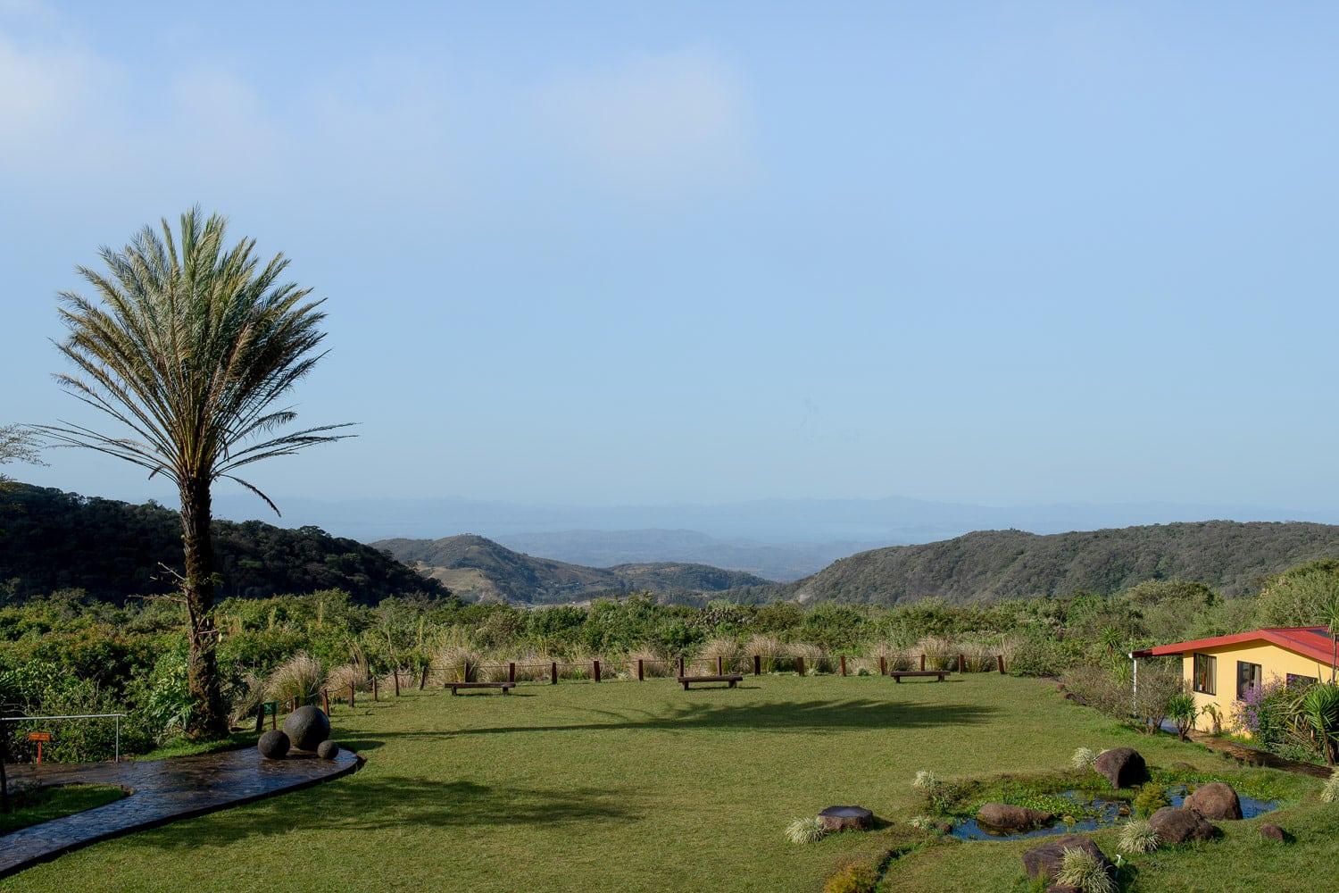 view of tropical lands