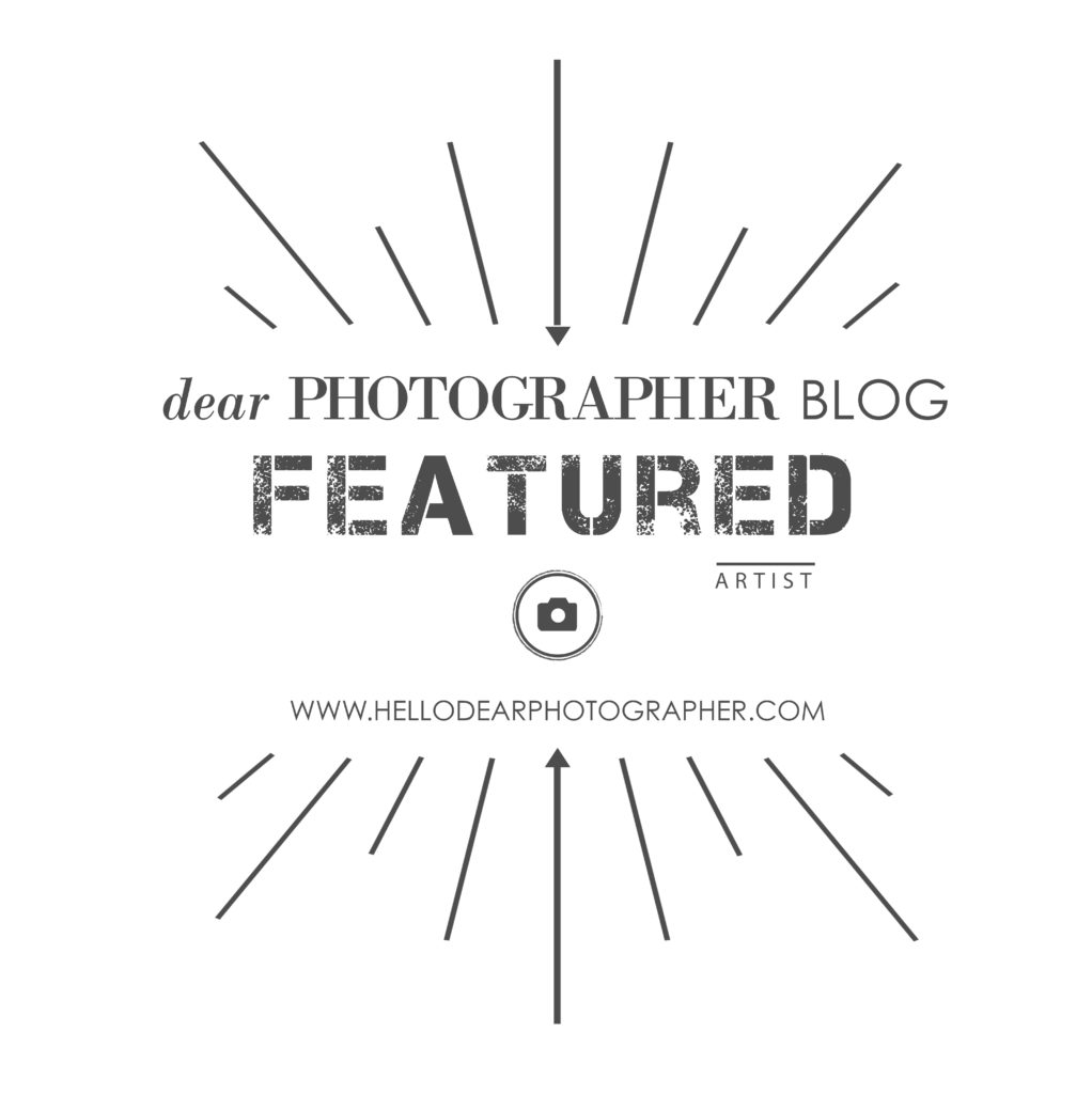 dear photographer featured badge