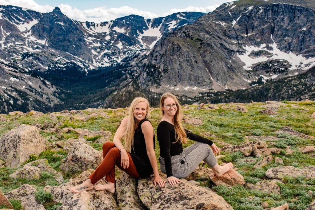 Brittany and Emmy, Colorado and oregon elopement photographers in a beautiful location