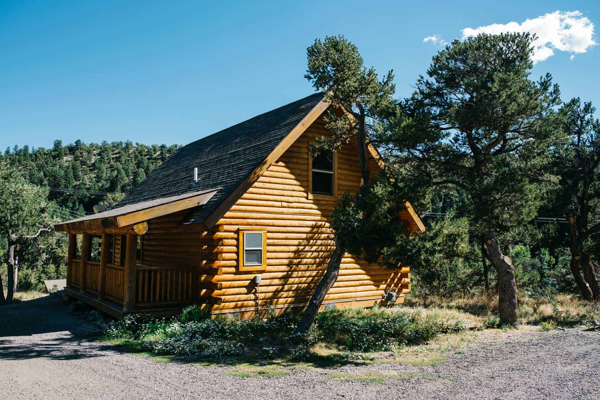 rocky mountain national park cabin