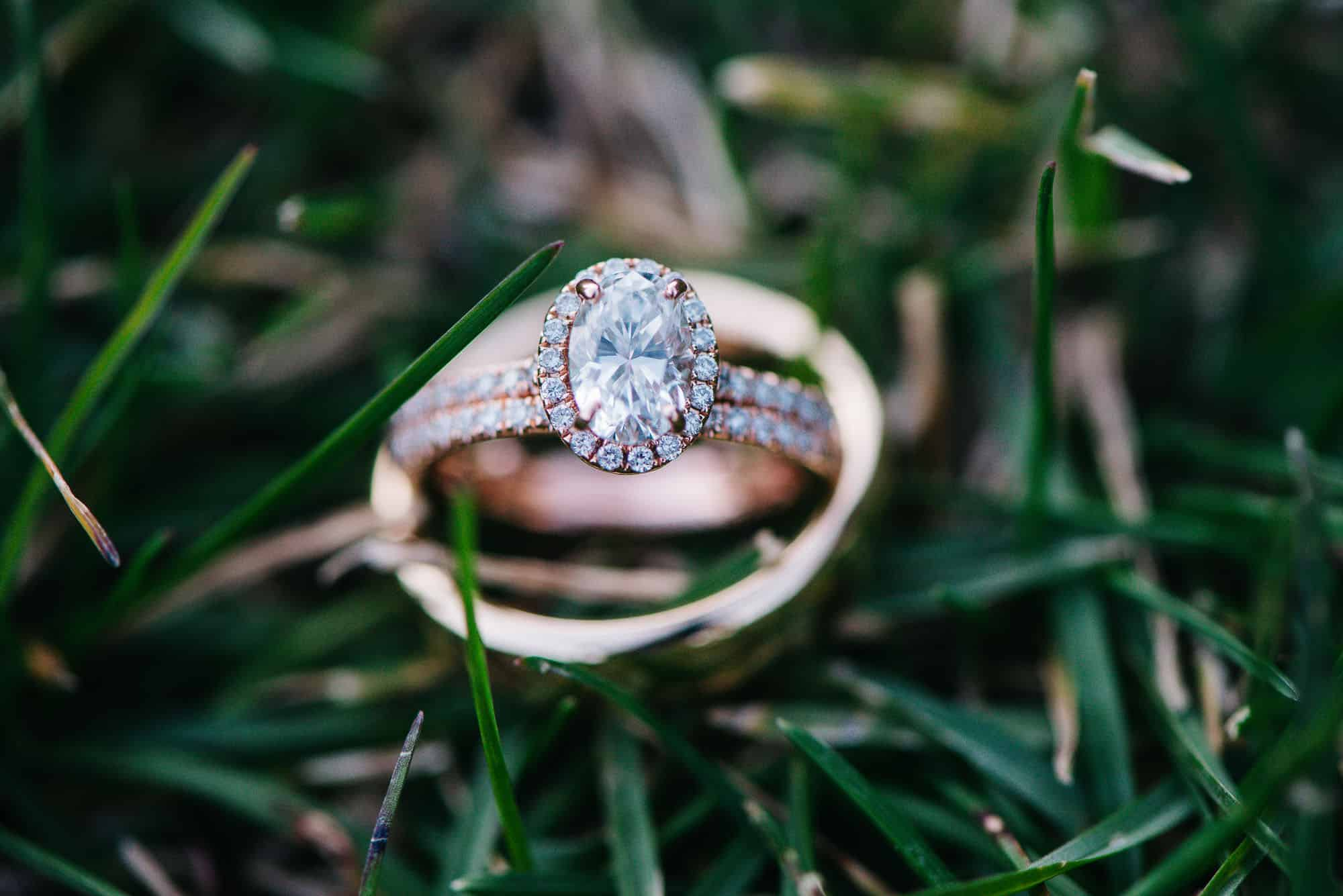 Photo of wedding ring from eloping couple who followed the elopement checklist pdf