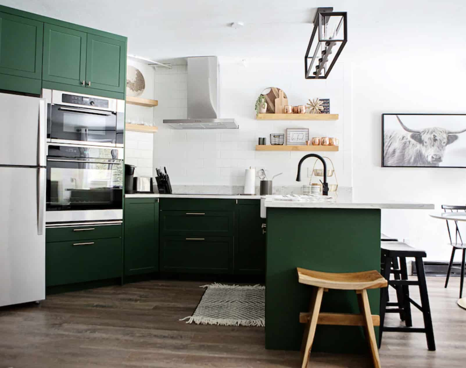 airbnb wedding venues colorado modern ski in and out condo with goregous green kitchen