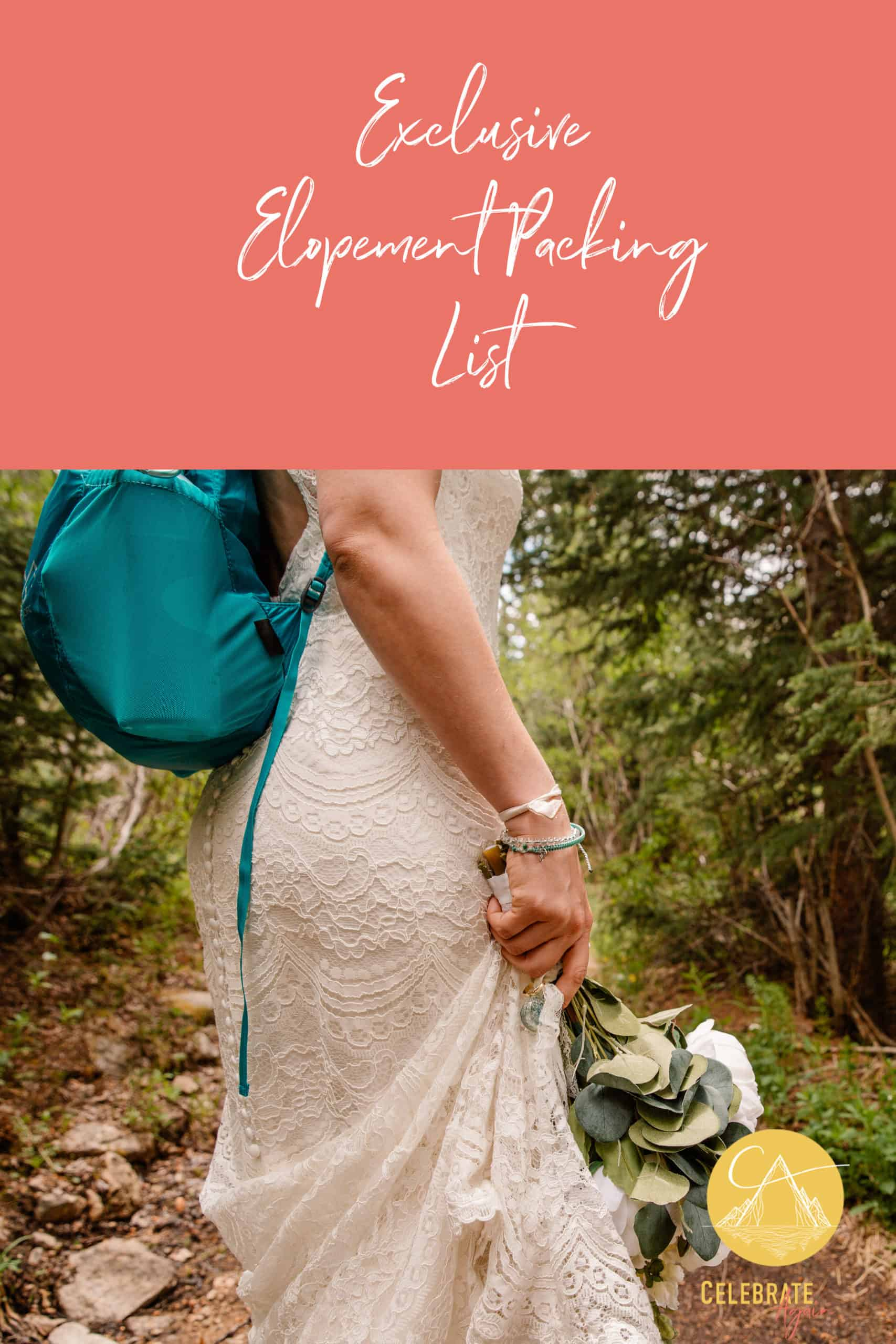 """exclusive elopement packing list"""